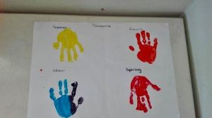 hands painted
